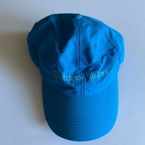 New Outdoor Voices Doing Things Dallas cap hat